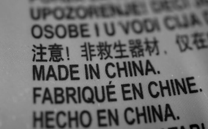Hàng Mỹ made in China