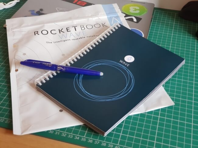 Review Smart Notebook Rock Wave