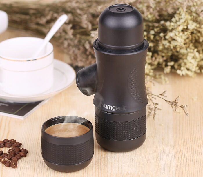Homgeek 1 Mini Espresso Portable Maker
