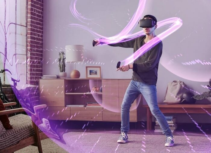 Kính thực tế ảo VR Oculus Quest All-in-one VR Gaming Headset 128GB