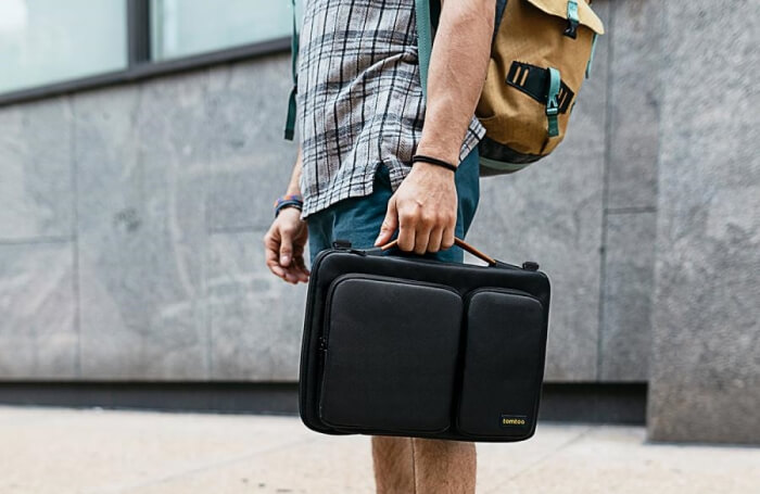 Túi tomtoc 360 Protective Laptop Shoulder Bag
