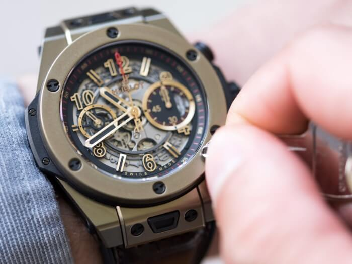 Đồng hồ Hublot Big Bang Ferrari Magic Gold