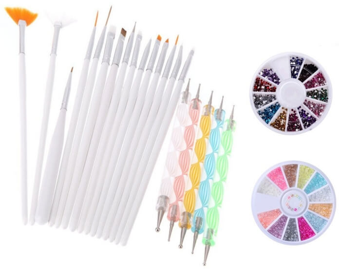 Bộ cọ vẽ Yimart 20PCS Nail Art Design Dotting Painting